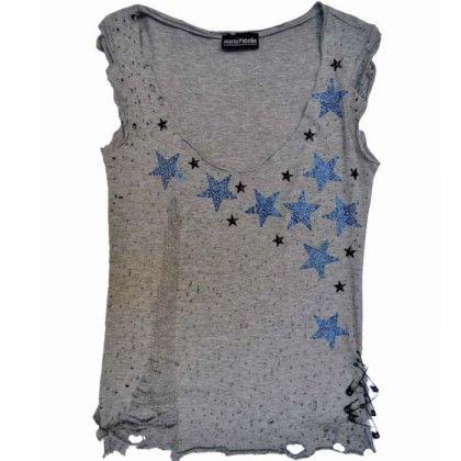 Shine like a star! 'Rags Rock' T-shirt by Maria Patelis