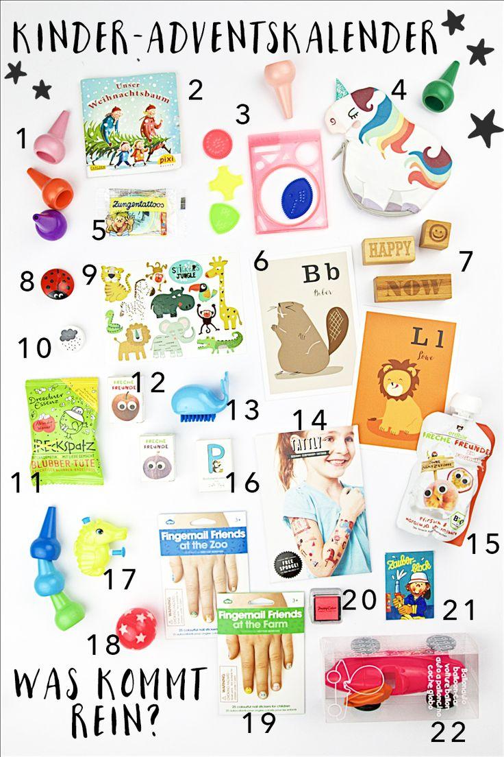 Adventskalender für Kinder – Was kommt rein?