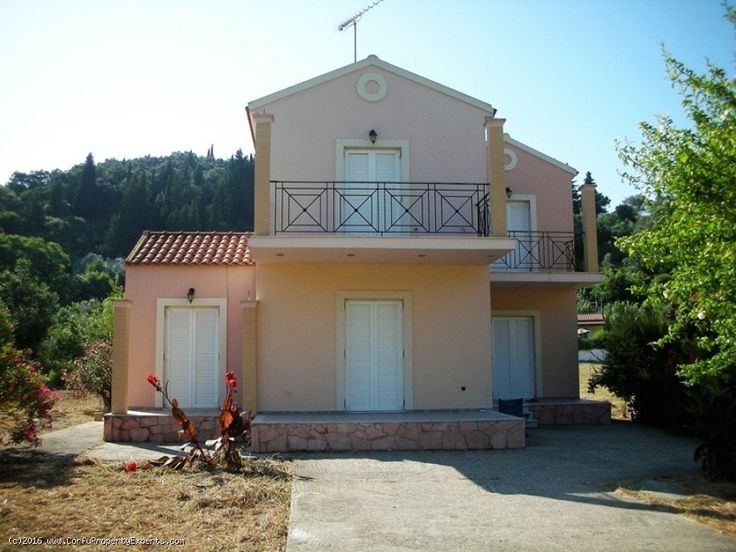 New listing. A property for sale in Magoulades, Corfu.