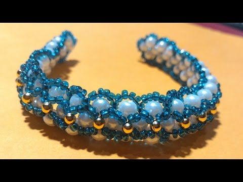 how to make Handmade Beaded Bracelets Malayalam Tutorial - YouTube
