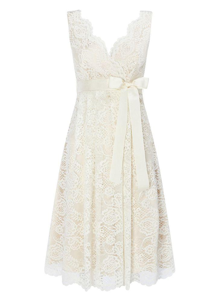 Sofia short wedding dress bhs i love this dress for a for Nursing dresses for wedding