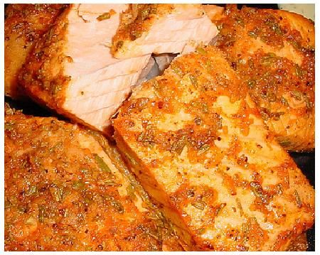 Seasoned Salmon Bake