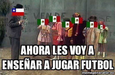 Despedida del Profesor Jirafales y de México en la Copa América.