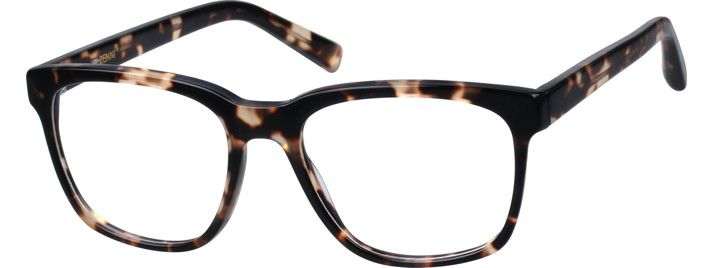 Order online, unisex pattern full rim acetate/plastic square eyeglass frames model #4419825. Visit Zenni Optical today to browse our collection of glasses and sunglasses.