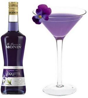фиолетовые напитки