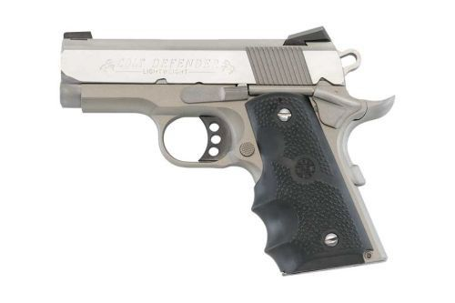 Colt O7000D 1911 Defender Pistol .45 ACP 3in 7rd Stainless for sale at Tombstone Tactical.