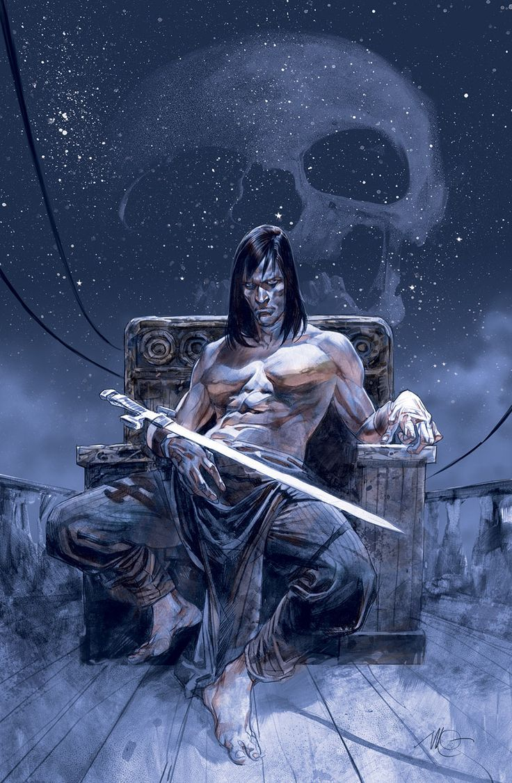 Gorgeous Conan the Barbarian covers by Massimo Carnevale