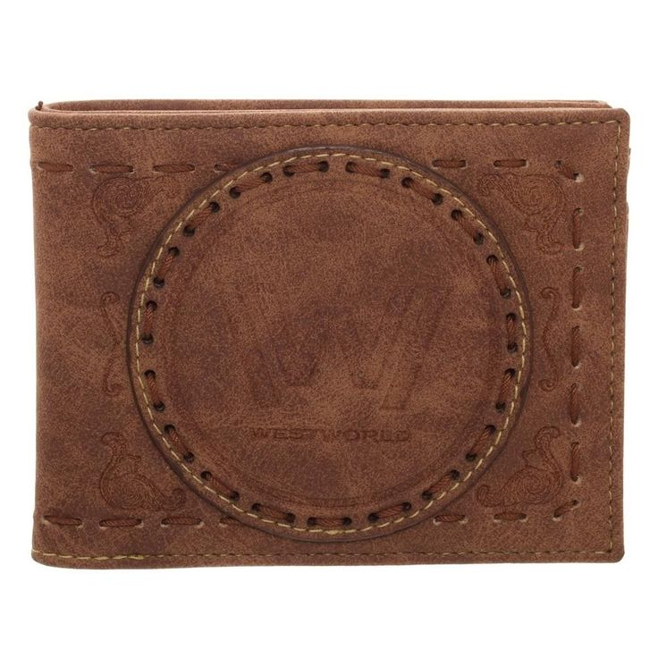 WestWorld Logo Faux Leather Bifold Wallet Maze HBO TV Show Western Cowboy World #Bioworld #Bifold