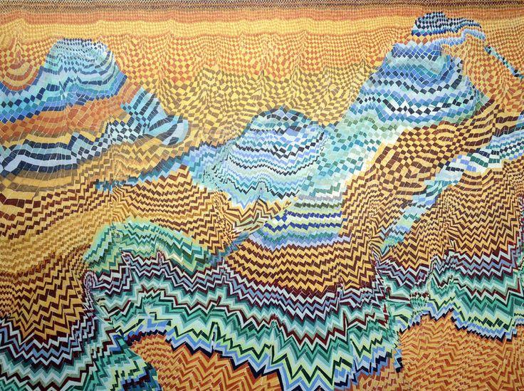 "Saatchi Art Artist: sara willett; Oil 2013 Painting ""A Thousand Li"""