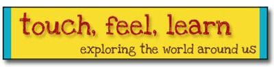 """Touch, Feel, Learn: Exploring the World Around Us ... great mini-lessons for """"school"""""""