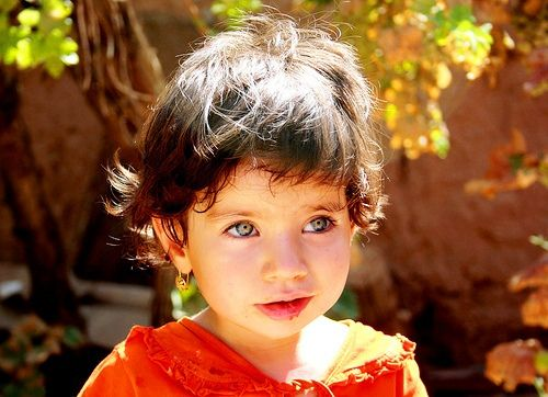 https://flic.kr/p/av1se3 | Iranian Children | Persian Girl with the most beautiful eyes in the world