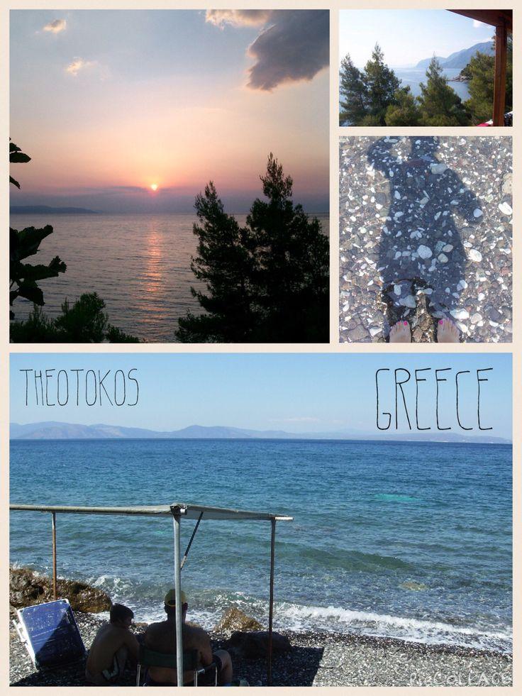Theotokos, Euboea Island, Greece  #ihavethisthingwithgreekbeaches #Greece