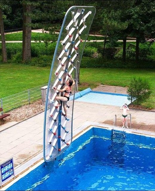 Cool Pools With Slides 118 best images about pool & spa on pinterest | mansions, luxury