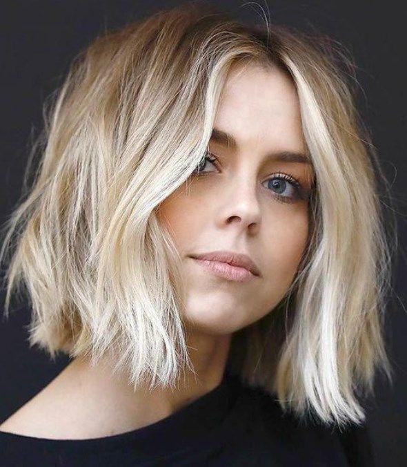 Trendfrisuren Fr Mittellanges Haar 2019 Frisuren Frisuren