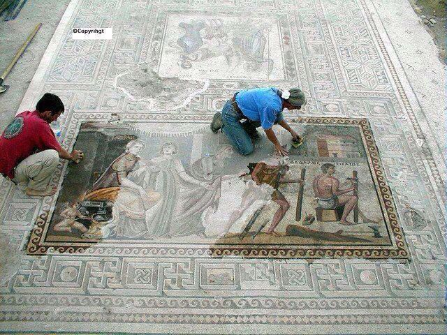 Zeugma Museum, Gaziantep , Turkey , biggest mosaic museum in the world.