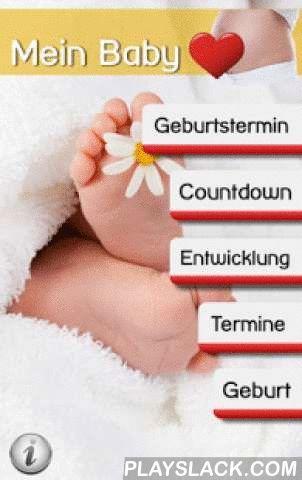 """Mein Baby - Ich Bin Schwanger  Android App - playslack.com , Diese praktische """"Mein Baby - Ich bin schwanger"""" App ist der ideale Begleiter durch die Schwangerschaft. Der voraussichtliche Geburtstermin kann entweder direkt eingegeben werden, oder durch Angaben zu Zeitpunkt und Dauer der letztzen Periode errechnet werden.Der Baby Countdown zeigt den Fortschritt in einem Balkendiagramm, das aktuelle Trimester, den aktuellen Schwangerschaftsmonat und die aktuelle Schwangerschaftswoche. Außerdem…"""