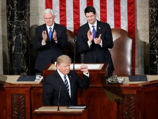TRUMP CALLS FOR HUGE MERIT BASED IMMIGRATION REFORM  President Donald Trump called for a huge overhaul of the nations immigration rules to reduce the huge inflow of low-skill welfare-dependent immigrants but perhaps also to increase the inflow of productivity-boosting white-collar immigrants. In his Feb. 28 speech to the joint session of Congress he declared: Nations around the world like Canada Australia and many others - have a merit-based...  Source