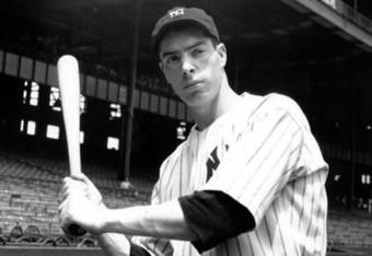 Today in 1941 - Joe DiMaggio gets a single against Eddie Smith of the White Sox to start his 56-game hitting streak.
