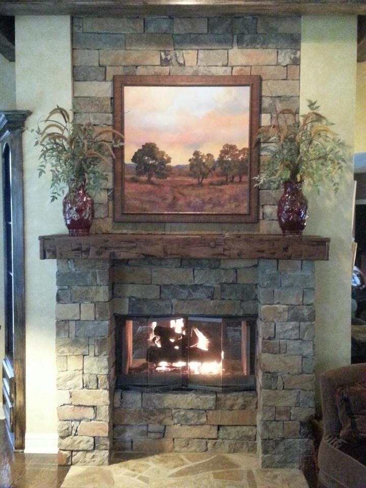 Wood Fireplace barnwood fireplace : 34 best Barn Wood mantles from posts and beams from 100+ year old ...