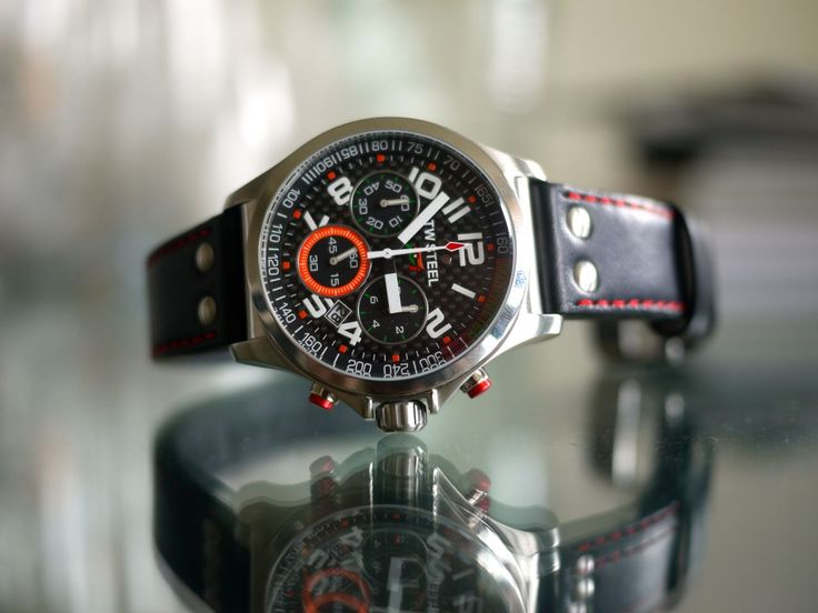 TW Steel Force India Edition Chronograph Watch