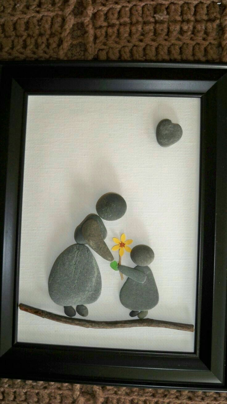 Best 25 mother day gifts ideas on pinterest for Pebble art ideas
