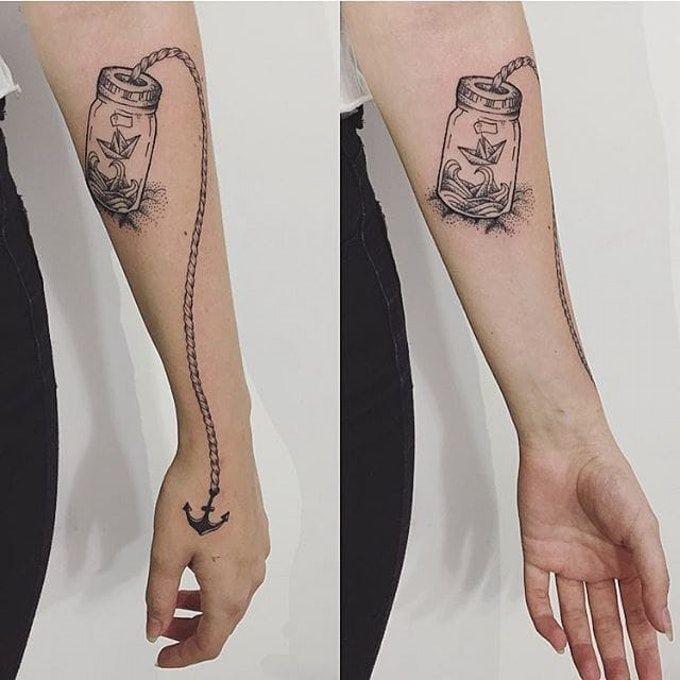 Tattoo Jar Ideas