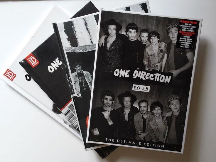 CD One Direction - Tutti gli Yearbook Limited Deluxe Ultimate Booklet edition 1D. La spedizione della collection dei ONE DIRECTION, costituita da 4 CD nelle versioni Yearbook Limited Deluxe Ultimate edition (raccolte insieme per voi da #CDCLUB ), è IMMEDIATA, da NOI vista la richiesta 'Directioners' :) si può comprare (CLICCA SULLA COPERTINA) sin da ora! #Four #MidnightMemories #TakemeHome #UpAllNight #OneDirection #1D