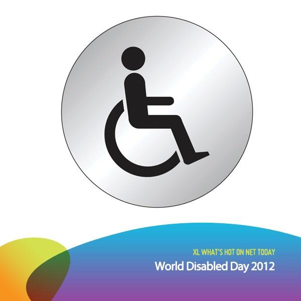 Hari ini adalah Hari Penyandang Cacat Sedunia (World Disabled Day). Mari kita menghormati & mendukung mereka yg memiliki keterbatasan untuk selalu berkarya.    *as posted on XL Rame