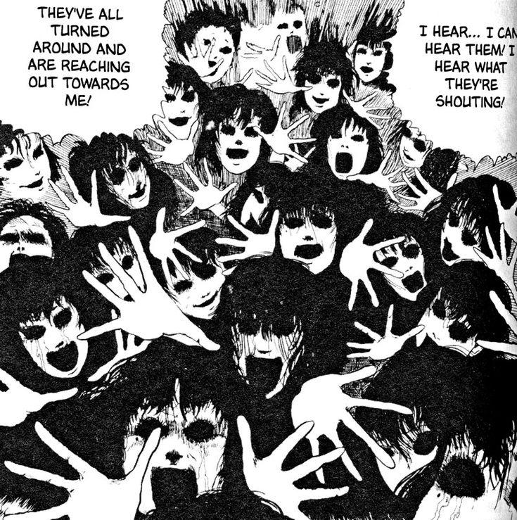 horror manga by Tomie