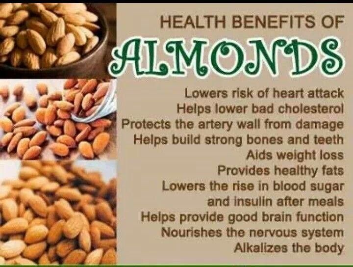 17 Best images about almonds on Pinterest   Almond recipes ... Almonds Benefits