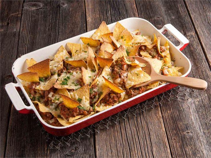 Jauheliha-nachos