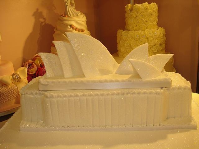 sydney opera house by Flickr user Kelly Ann's Cakes