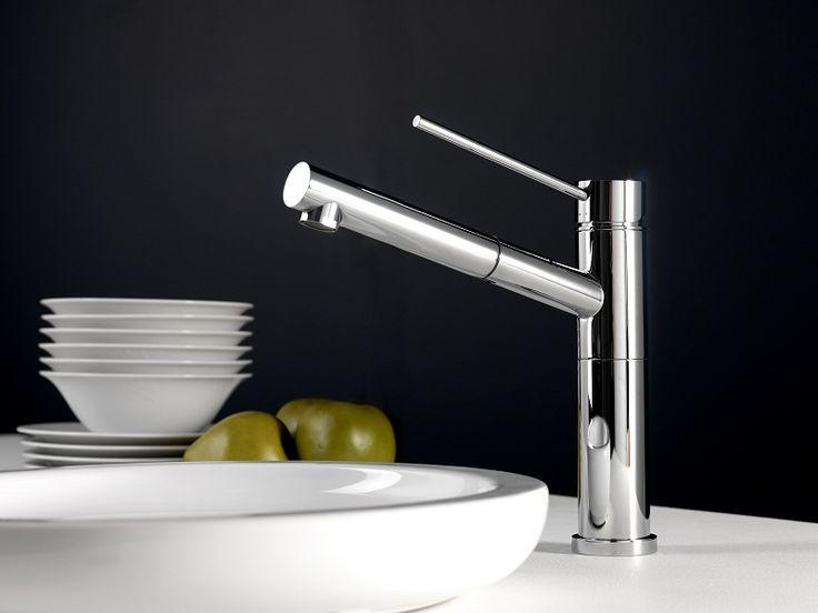 Noken Kitchen Pal single lever sink mixer pull out   Image Gallery | Noken Design