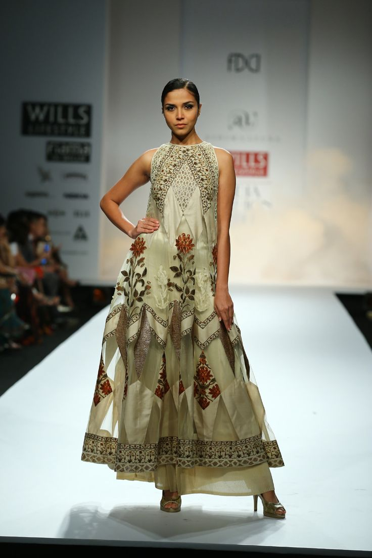 by Ashima-Leena Wills Lifestyle India Fashion Week #WIFW Fall/Winter 2014-15