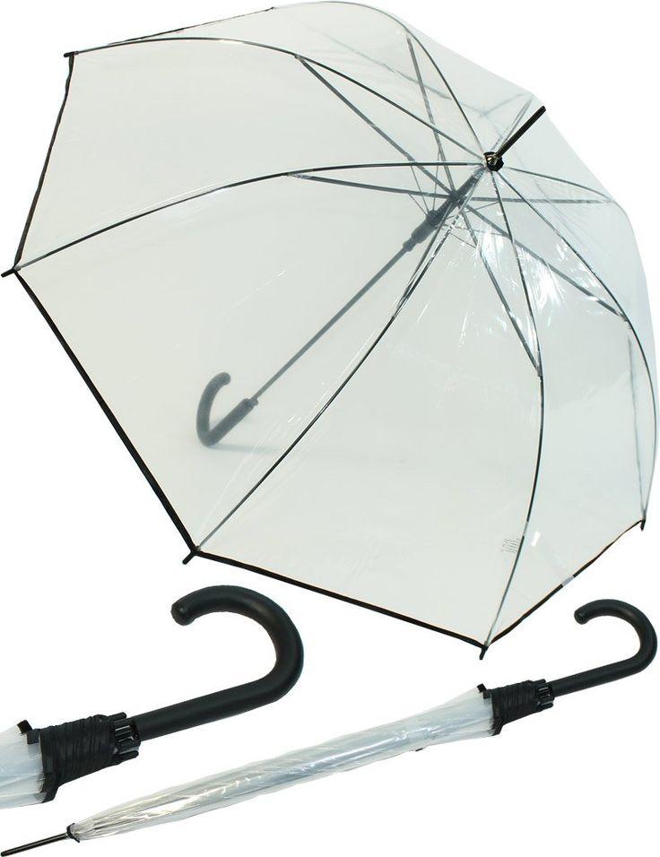 Plan B bei Regen: Prime bestellbar!! Regenschirm Durchsichtig 16,95 €