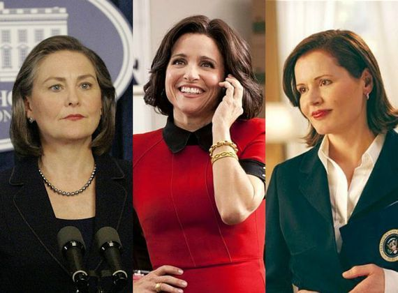 Television Loves Female Presidents, as Long as They're Republican