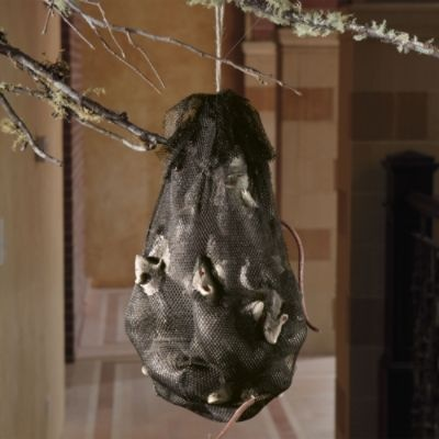 Hanging Bag of Rats with Sound
