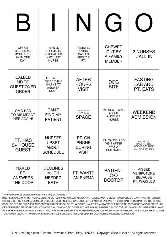 photograph relating to Printable Nurses Week Games called Pin upon cna 7 days
