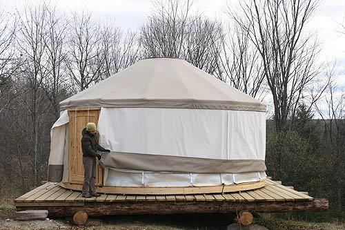 easy peasy #yurt