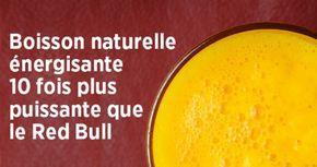 La boisson naturelle énergisante 10 fois plus saine et efficace que le Red Bull - Aider Son Prochain