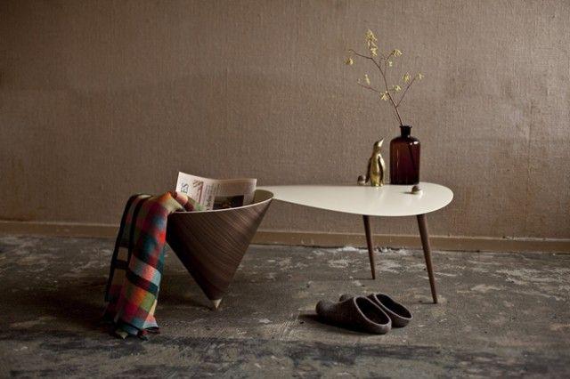 Die holländische Designerin Daphna Isaacs Burggraaf kreiert Möbel und Objekte, die auf eine neue Art mit Formen spielen.