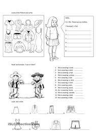 Znalezione obrazy dla zapytania who is wearing? worksheet