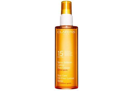 "Clarins - Clarins Sun Care Oil-Free Lotion Spray Moderate Protection ""For Outdoor Sports"" UVB 15 UVA -aurinkosuojasuihke vartalolle 150 ml"