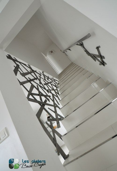 Les ateliers brice bayer architecture d 39 int rieur garde for Escalier d interieur