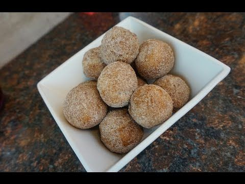 Taco Bell Cinnabon Delights Inspired Doughnut Bite - YouTube
