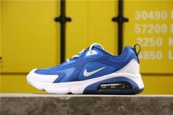 Nike Air Max 200 NASA / BLAU / CLIPPER AQ2568-400 Winter Herren Laufschuhe AQ2568-400   – Nike Air Max  200 shoes