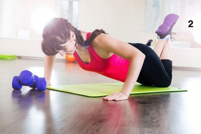 Exercícios para fazer em casa e queimar algumas gorduras localizadas.