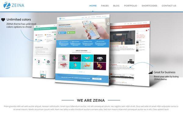 Zeina - Responsive Multipurpose Template