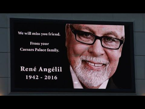 Celine Dion Husband René Angélil's Died National Funeral Monreal Canada 73 YRS Throat Cancer - YouTube