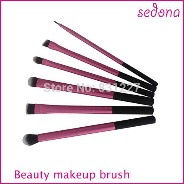 super doux rose cheveux taklon pinceaux de maquillage de base kit professionnel dans Brosses et instruments de maquillage de Beauté et santé sur Aliexpress.com